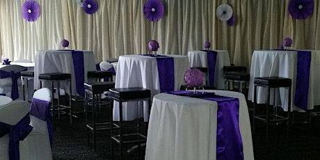 Purple & White Ball  21' tickets