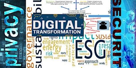 Cybersecurity & Privacy in ESG Digital Transformation Webinar tickets