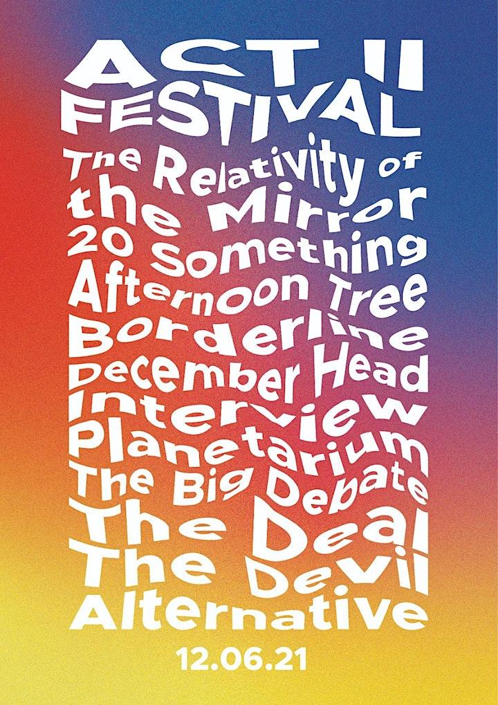 ACT II Festival 2021 - Week 2 image