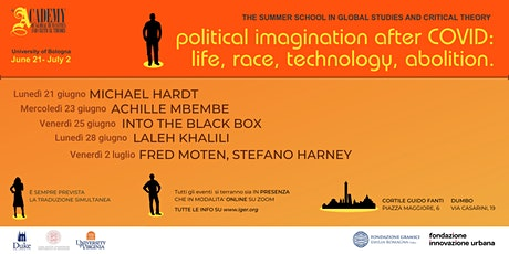 POLITICAL IMAGINATION AFTER COVID: LIFE, RACE, TECHNOLOGY, ABOLITION tickets