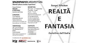 Sergei Tchoban   REALTA' E FANTASIA   Cartoline...