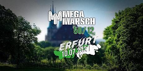 Megamarsch 50/12 Erfurt 2021  -  neue Startgruppen Tickets