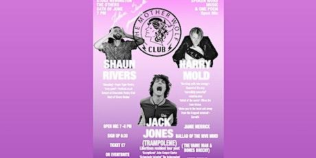 The Mother Wolf Club ft. Jack Jones (Trampolene)+Shaun Rivers+Jamie Merrick tickets