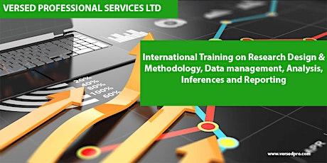 International Training on Research Design & Methodology, Data management, A tickets