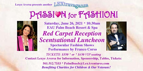 PASSION FOR FASHION tickets