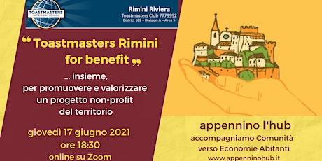 Toastmasters Rimini for benefit biglietti