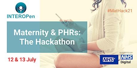 Maternity & Personal Health Records Interoperability: The Hackathon tickets