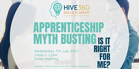 Apprenticeship Myth Busting – is it right for me? tickets
