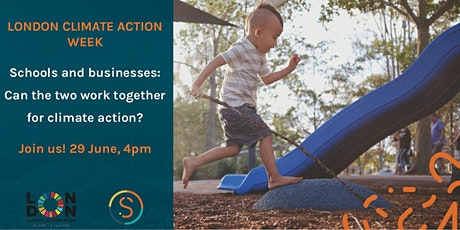 Schools and businesses: can the two work together for climate action? tickets