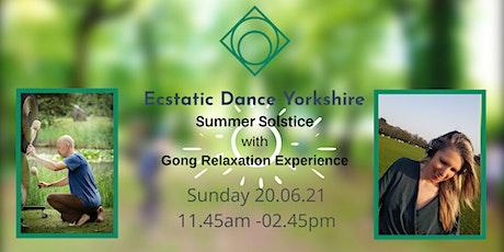 Ecstatic Dance Yorkshire: Summer Solstice tickets