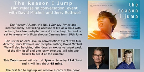 The Reason I Jump - Film Launch and 'In Conversation' Event tickets