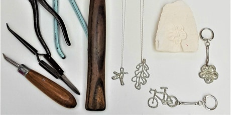 Pewter pendant and keyring making workshop. tickets