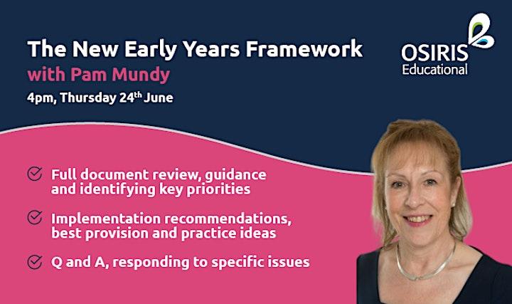 The New Early Years Framework  webinar image