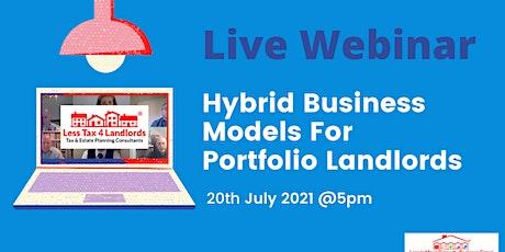Hybrid Business Models for Portfolio Landlords tickets
