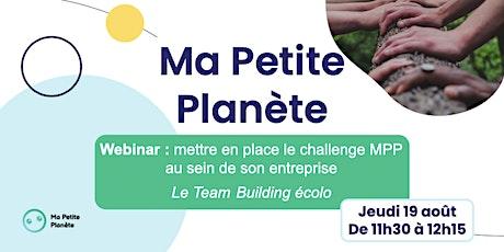 Webinar 14- Ma Petite Planète en Entreprise entradas