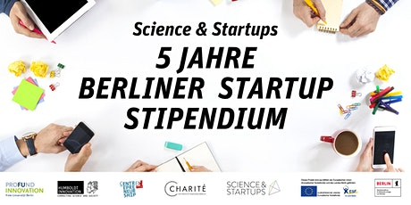 5 Jahre Berliner Startup Stipendium tickets