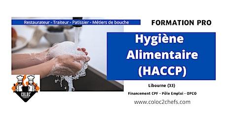 HACCP -  Formation spécifique hygiène et sécurité alimentaire billets