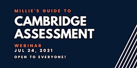 WEBINAR   Millie's Guide to Cambridge Assessment bilhetes