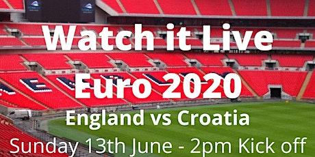 Euro 2020 - England vs Croatia - Sunday 13th June tickets