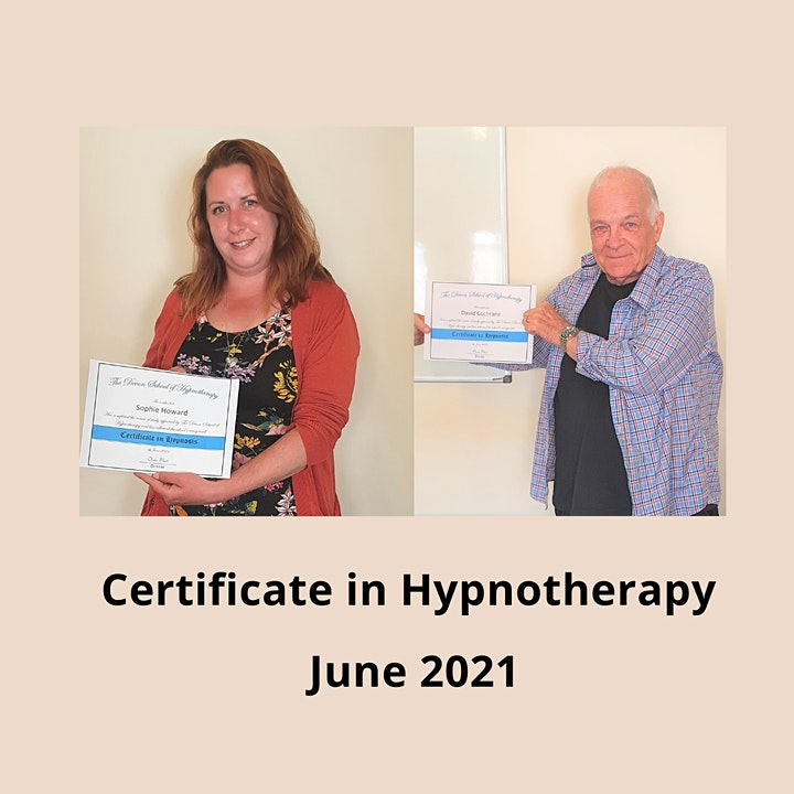 Certificate in Hypnotherapy Weekend Course image