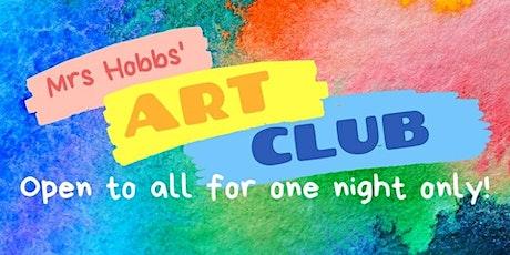 Mrs Hobbs' Art Club tickets