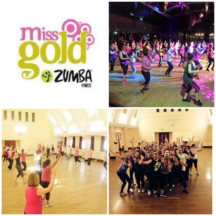 Miss Gold Workshops - Summer Zumba throwback! (2021) image