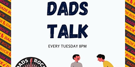 Dads Talk - Weekly chat for new and expectant Dads from across Scotland tickets