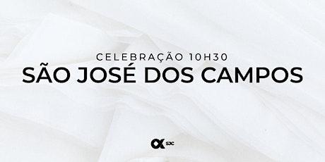 CULTO SÃO JOSÉ DOS CAMPOS 20/06 - 10H30 ingressos