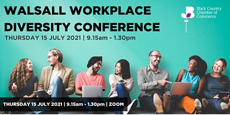 WALSALL WORKPLACE DIVERSITY CONFERENCE tickets