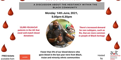 BLACK PEOPLE: LET'S TALK ABOUT BLOOD DONATION tickets