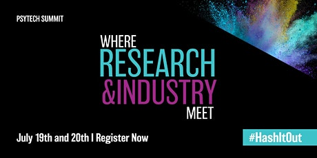 PsyTech Summit : Where Research & Industry Meet tickets