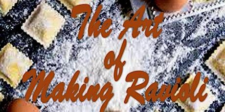 The Art of Making Ravioli tickets