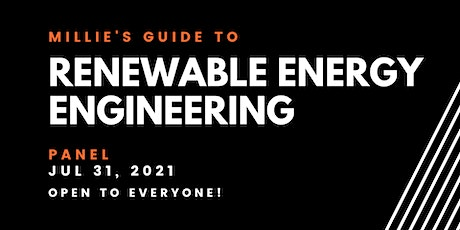 PANEL | Millie's Guide to Renewable Energy Engineering tickets