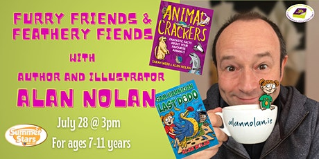 Furry Friends and Feathery Fiends with Alan Nolan tickets