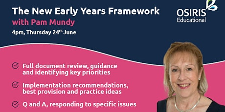 The New Early Years Framework  webinar tickets