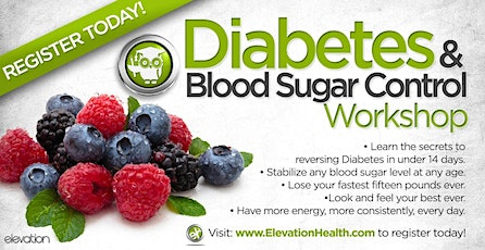 Diabetes Reversal and Blood Sugar Control tickets