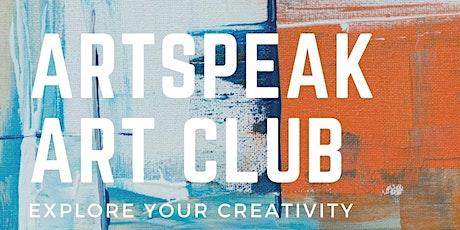 ArtSpeak Art Club tickets