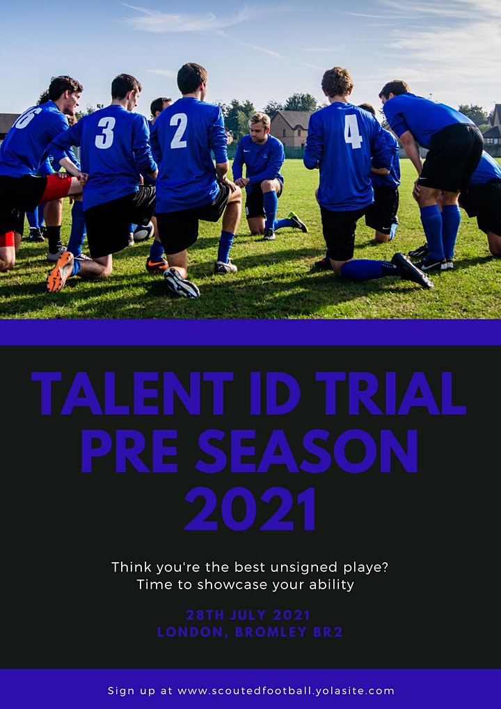 Scoutedfootball Talent ID Trial -  Pre Season 2021 image