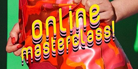 CREATIVE LATEX CLOTHING MASTERCLASS / Online! tickets