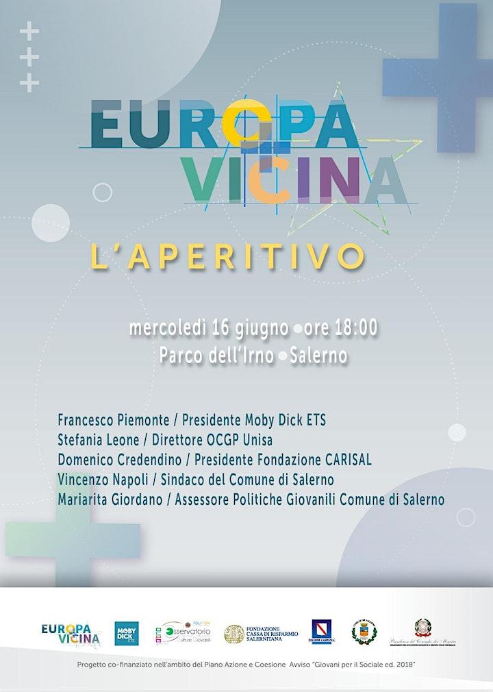 Immagine ''Europa+Vicina''. L'Aperitivo