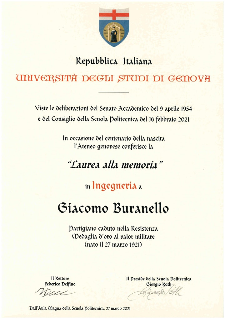 Immagine Laurea in Ingegneria a G. Buranello - aula B2