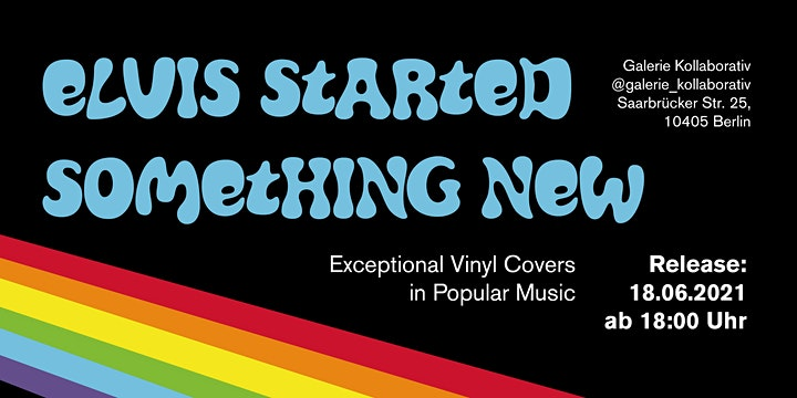 ELVIS STARTED SOMETHING NEW - Exceptional Vinyl Covers in Popular Music: Bild