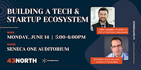 Building a Tech & Startup Ecosystem tickets