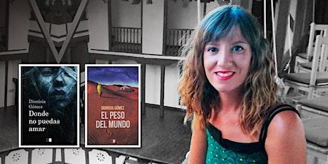 Encuentro literario con Dionisia Gómez entradas