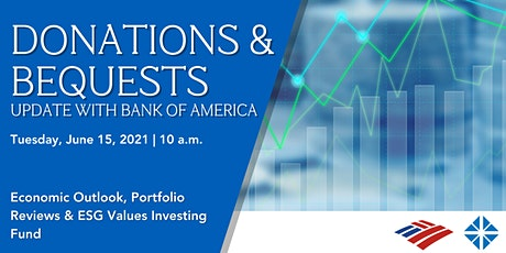 Donations and Bequests- Economic Projections & Portfolio Review tickets