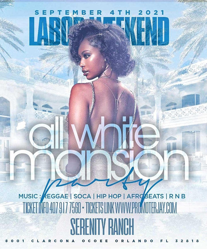2021 Labor Day Weekend All White Mansion Day Party image