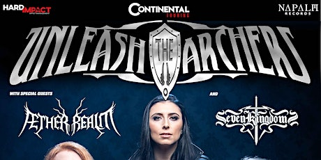 Unleash the Archers, Aether Realm, and Seven Kingdoms in Orlando tickets