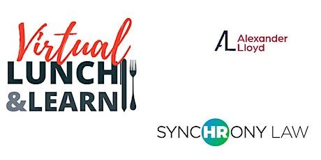 Lunch & Learn Webinar  24th June 2021 tickets