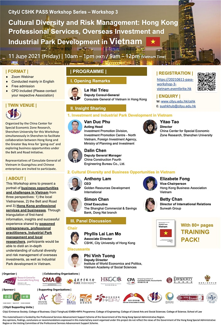 CityU CSHK PASS Professional Training Workshop 3 - Vietnam image