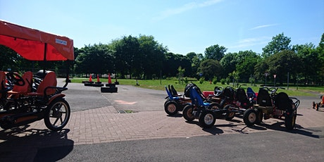 July  - Sat & Sun Bikes ,Trikes, & Go Karts at Glasgow Green Cycle Track tickets